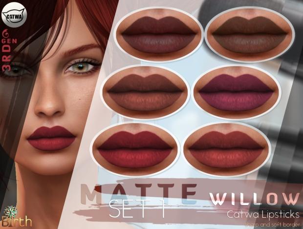 birth-catwa-lipsticks-willow-matte-set-1