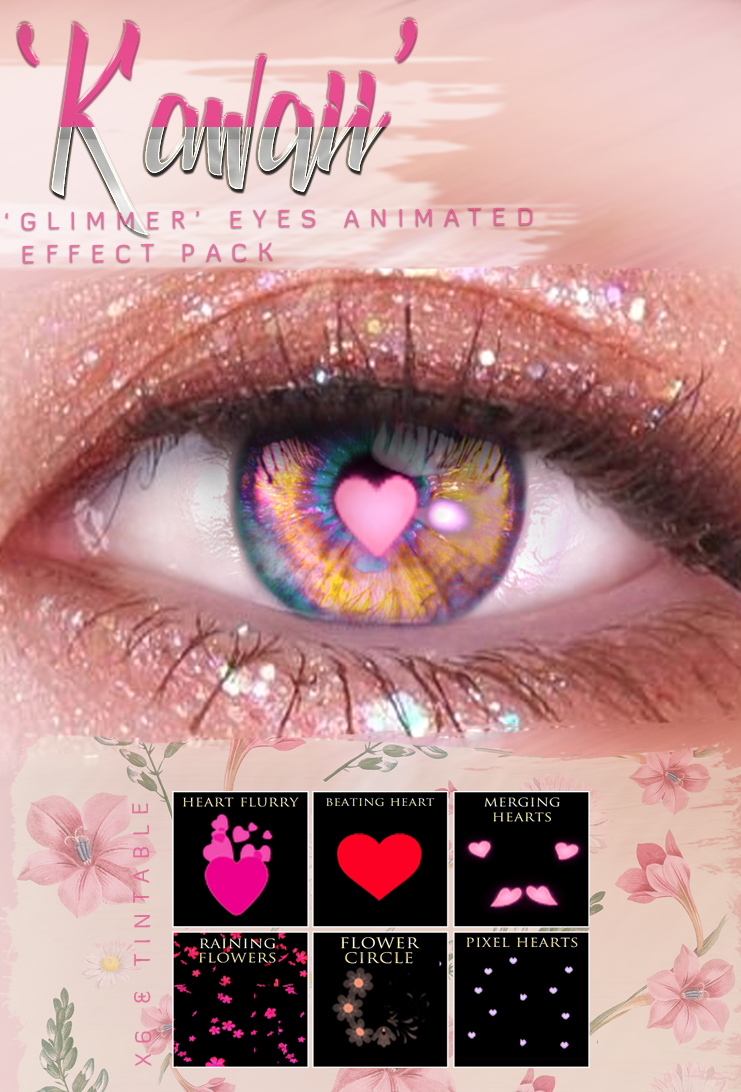 -Birth- 'Kawaii' Glimmer Eye Effect Pack Advert
